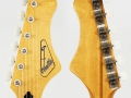 Feather EG50 USA import Guyatone LG50 headstock.