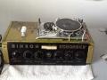 Binson Echorec 2 T6FA 6 knops Black Plexi front 1961 met toonregeling, Binson label en originele pointerknoppen. Ook met Guild label,