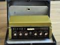 Binson Echorec 2 T7E 6 knops Black Plexi front 1962 met toonregeling in originele koffer. Vanaf 1971 als transistor uitvoering.