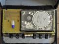 Binson Echorec 2 T7E 6 knops Black Plexi front 1962, zicht op koppenplaat met Photovox weergavekoppen.