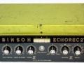 Binson Echorec 2 T7E 6 knops Black Plexi front 1971 met toonregeling. Transistor uitvoering. Ook met Sound City label.