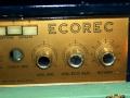 Binson Ecorec 6 knops Gold Plexi front 1955, controls rechts. Nog zonder toonregeling.