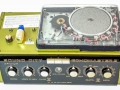 Sound City Echomaster 2, gemodificeerd met 1 extra schakelbare 5e weergavekop met A-B switch en variabele speedcontrol.