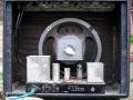 Binson HiFi 20 combo 1961 open back met poweramp onderin met ECC83 en 2xEL84 en 12 inch speaker.