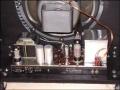 Binson HiFi 40 combo open back met onderin de ECC83, 2xEL34, GZ34 gelijkrichter.