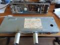Binson HiFi Buizentop 20 watt 1960 met voorin de preampsectie met ECC82 en ECC83 en achterin de onderzijde van de poweramp.