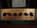 Binson model 3 amp 15 watt 1959 in Echorec behuizing, 2xEL84, 5y3 gelijkrichter.