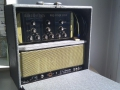 Binson HIFI Pre-mixer 3 MN met Binson 40 watt buizen power amp 1961, in case.