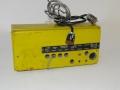 Binson HIFI Pre-mixer 4 MN, back met aansluitkabel.