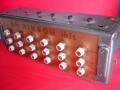 Binson HiFi Gold Plexi 6 input kanaals mixer, 3 Send en return kanalen buizen 1959 zonder power supply.