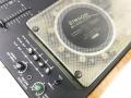 Binson ME8 mixer, 8 kanaals met schijfecho, detail schijf.