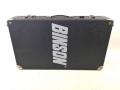 Binson ME8 mixer, 8 kanaals met schijfecho, originele case.