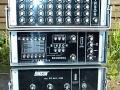 Binson P.E. buizen Rack ca. 1970 met P.E.-603-TU6 echo, P.A.-602-8 mixer en P.O. 601-200 poweramp van 200 watt.