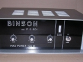Binson P.O. 601 Power amp 100 watt, front.