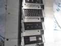 Binson PA buizensystem T600 in rack met Echorec P.E.-603-T, Hifi versterker P.O.-601, 6 kanaals premixer P.A.-602 en AC Voltage Regulator P.V.-604 1000 watt.
