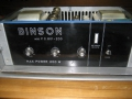 Binson Power amp P.O. 601-200, 200 watt, open.