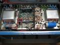 Binson Power amp P.O. 601-200, 200 watt, techniek onder.