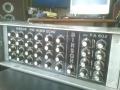 Binson buizen Pre-Mixer P.A. 602, Black Plexi 1967, 6 kanalen +2 aux.