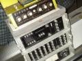 Binson buizenrack met effecten Echorec2 6 knops, Echorec PE603T, Pre Mixer PA602 en een AC Voltage regulator PV 604 1000 watt.