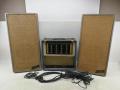 Binson buizenset,  4 kanaals premixer 4MN met Hifi versterker 40 watt, in originele koffer met speakerboxen 1961.