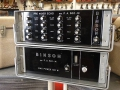 Binson combinatie met Pre Mixer P.A. 602-M en Power amp P.O. 601-M 100 watt 1969.