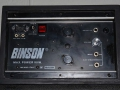 Binson poweramp 50 watt display.
