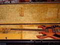 Burns Baldwin Baby Binson Bass Cherry 1965, in originele koffer. Baldwin cat. no. 561.