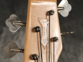 Burns Baldwin Jazz Bass 1965, scroll headstock front.