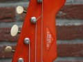 Burns Baldwin Nu-Sonic Bass Cherry 1965, headstock front.