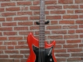 Burns Baldwin Nu-Sonic Bass Cherry 1965.