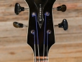 Burns Baldwin Vibraslim Bass 1966, headstock front.