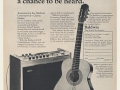 Baldwin Contemporary Classic 801CP 6 string gitaar 1967, advertentie.