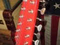 Burns Baldwin 712T 12 string 1967, headstock front.