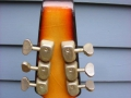 Burns Baldwin Archtop 706V Sunburst 1967, headstock back.
