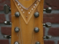 Burns Baldwin Baby Binson 1965, headstock front.