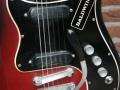 Burns Baldwin Nu-Sonic 6 string gitaar red Sunburst 1967, body.
