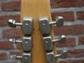 Burns Baldwin Vibra Slim 6 string in Natural Sunburst, 1965, headstock back.