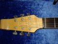UK Build Burns Baldwin Virginian dec 1966 met tremolo, headstock top.