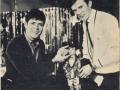 Cliff Richard met TV producer Gerry Anderson de bedenker de Thunderbirds serie.