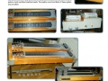 Ormston Steel Guitars 1966, fabrikaat Denley, als de Straight Eight en de Twin Eight.