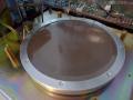 Echolette ECS4 disk echo, fabrikaat Melos eind 70er jaren, schijf.
