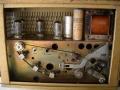 Echolette NG 41A bandloop met 2 opname- en 2 weergavekoppen in parallelschakeling, 1 weergavekop mist.