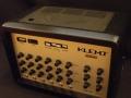 Klemt E100 70 jaren PA met Echo Intensity, Mix, Repeat en geintegreerde versterker EL34 100 watt muziek.