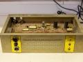 Echolette BS40 1964, 2 kanaals buizen basversterker, 32 watt 3xECC808 preamp en 2xEL34 eindtrap. Opvolger B40N, open.