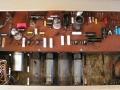 Echolette Bassmaster 100 3e versie 1973, 75 watt hybride preamp met ECC83 en 2xECC808 buizen en poweramp met 4xEL34 buizen.