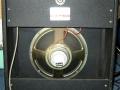 Echolette Junior gitaarcombo 1973, half open back met 12 inch speaker.