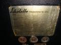 Echolette speakerbox LE 5 uit 1969, aansluitschema.
