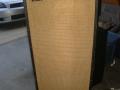 Echolette 60 watt speakerbox LE 5 uit 1969, 2x12 inch Isophon speakers PA30/A90 en 3 middentonen en 3 hoge tonen tweeters, front.