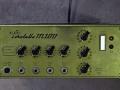 Klemt Echolette M100 versterker Gold Serie uit 1966, knoppen niet origineel. Buizenpreamp 4xEcc83 en Solid State poweramp.