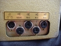 Klemt Echolette M40 1960, DIN aansluiting speakers.